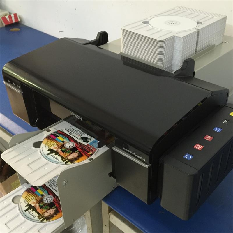 Auto Printer for Inkjet Pvc Card And CD/DVD Disc Print