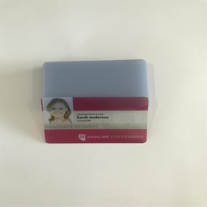 Transparent inkjet pvc card for Epson or Canon inkjet printer