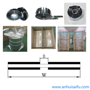 Middle Margin PET Film with Double Sided Al Metallized