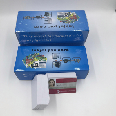 Double Side Inkjet Pvc Card for Epson Or Canon Printer (No Scratch on Surface)