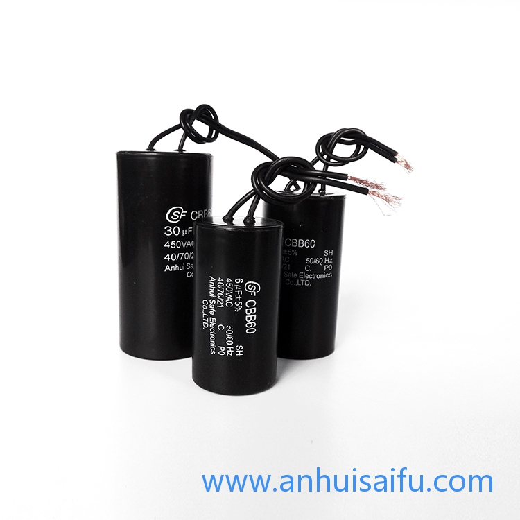 CBB60 motor run capacitors 6uf 8uf