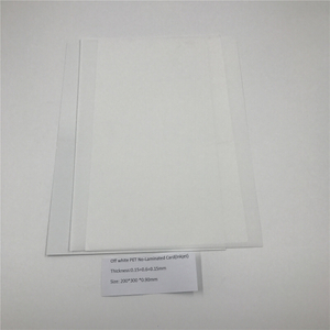 Off White PET No-Laminated Card(Inkjet)
